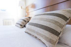 枕上のイメージ