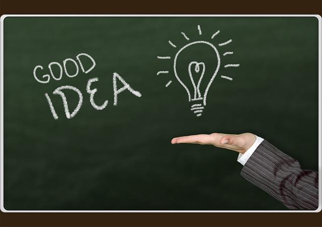 アイデア発想のイメージ