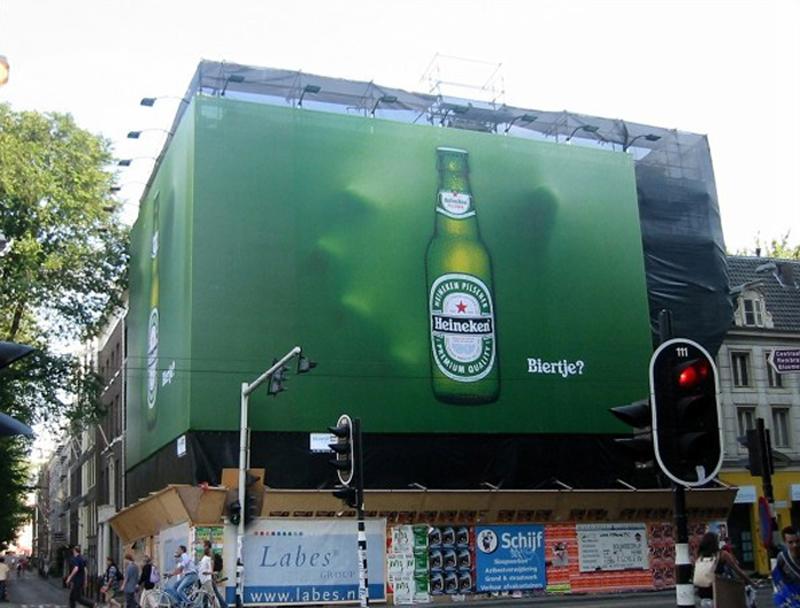 Heineken 3D Billboard