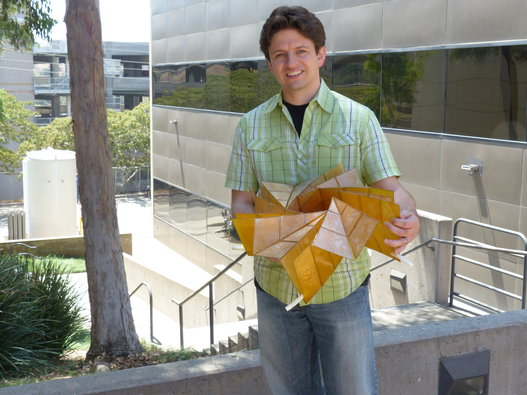 折り紙ソーラーパネル