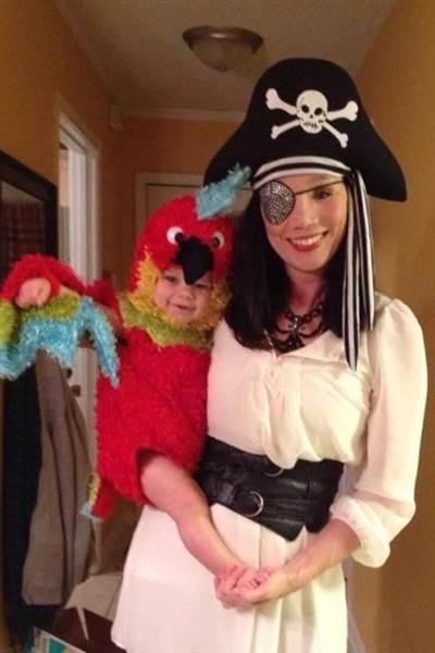 海賊オウム
