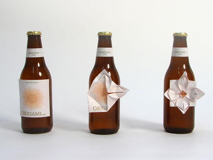 折り紙ビール