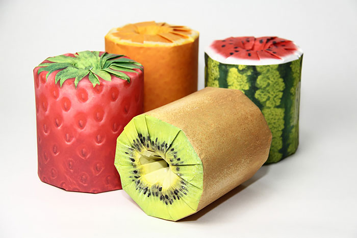 フルーツのトイレットペーパー2