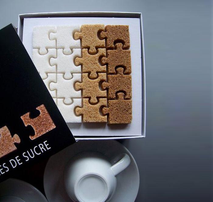 パズルの砂糖