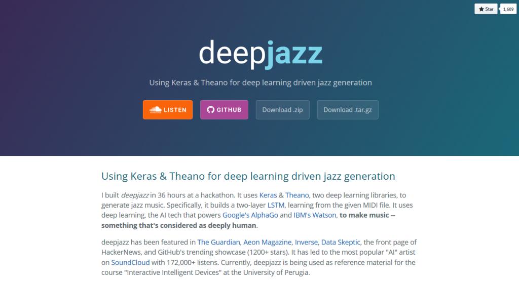 deepjazz